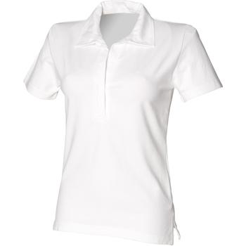 Textil Mulher Polos mangas curta Front Row FR78M Branco