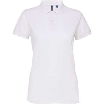 Textil Mulher Polos mangas curta Asquith & Fox AQ025 Branco