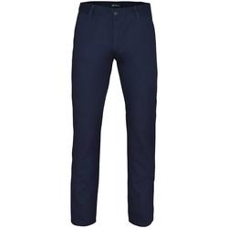 Textil Homem Chinos Asquith & Fox AQ052 Marinha