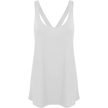 Textil Mulher Tops sem mangas Skinni Fit Workout Branco