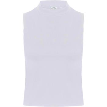 Textil Mulher Tops sem mangas Skinni Fit SK170 Branco