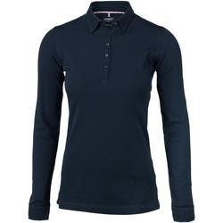 Textil Mulher Polos mangas compridas Nimbus Carlington Marinha