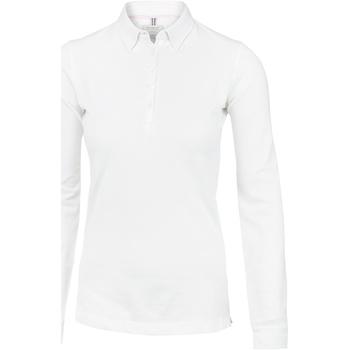 Textil Mulher Polos mangas compridas Nimbus Carlington Branco