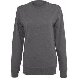 Textil Mulher Sweats Build Your Brand BY025 Carvão vegetal
