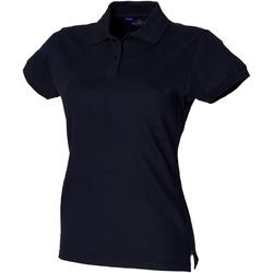 Textil Mulher Polos mangas curta Henbury HB306 Marinha