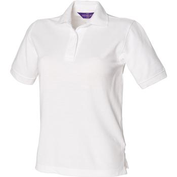 Textil Mulher Polos mangas curta Henbury HB401 Branco