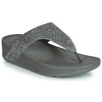 Sapatos Mulher Chinelos FitFlop LOTTIE GLITZY Prata