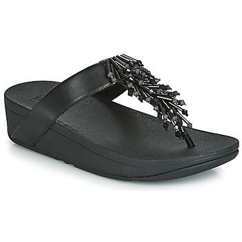 Sapatos Mulher Chinelos FitFlop JIVE TREASURE Preto