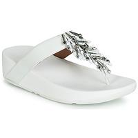 Sapatos Mulher Chinelos FitFlop JIVE TREASURE Branco