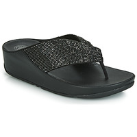 Sapatos Mulher Chinelos FitFlop TWISS CRYSTAL Preto