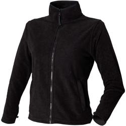 Textil Mulher Casaco polar Henbury HB851 Preto