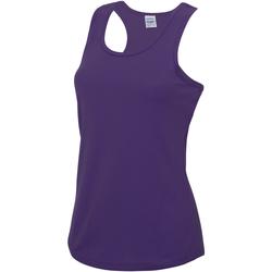 Textil Mulher Tops sem mangas Awdis JC015 Púrpura