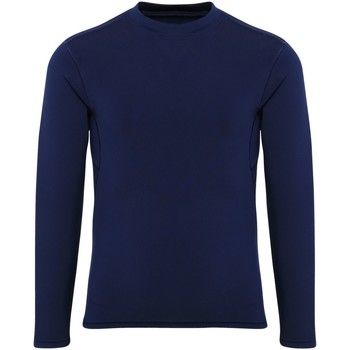 Textil Rapaz T-shirt mangas compridas Tridri TR16B Marinha