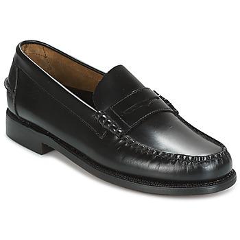 Sapatos Homem Mocassins Sebago CLASSIC Preto
