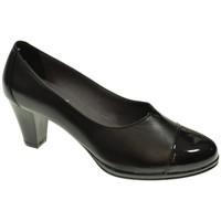 Sapatos Mulher Escarpim Duendy 5045LI Negro