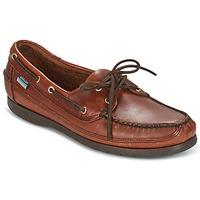 Sapatos Homem Sapato de vela Sebago SCHOONER Castanho