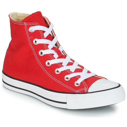 Sapatos Sapatilhas de cano-alto Converse CHUCK TAYLOR ALL STAR CORE HI Vermelho