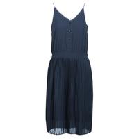 Textil Mulher Vestidos curtos Betty London KORI Marinho