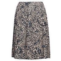 Textil Mulher Saias Betty London J.WILD TIME Bege / Preto