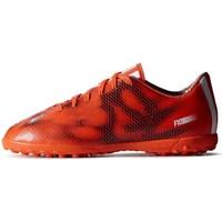 Sapatos Criança Chuteiras adidas Originals F10 TF J Preto,Cor de laranja