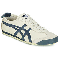 Sapatos Sapatilhas Onitsuka Tiger MEXICO 66 LEATHER Bege / Azul