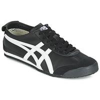 Sapatos Sapatilhas Onitsuka Tiger MEXICO 66 LEATHER Preto / Branco