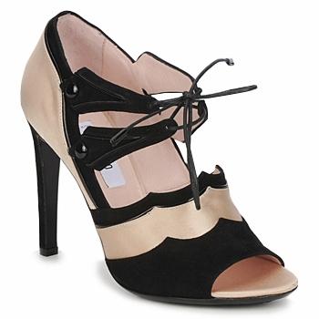 Sapatos Mulher Sandálias Moschino MA1601 Natural