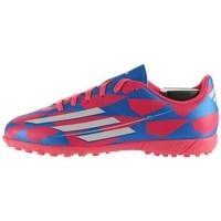 Sapatos Criança Chuteiras adidas Originals F5 TF J Branco, Azul, Cor-de-rosa