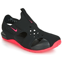 Sapatos Rapariga Sandálias Nike SUNRAY PROTECT 2 PS Preto / Rosa