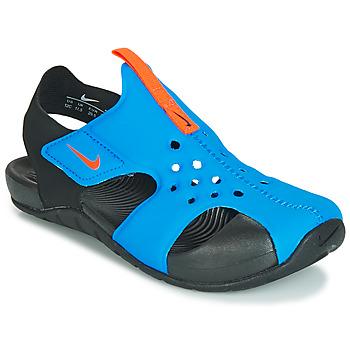 Sapatos Criança Sandálias Nike SUNRAY PROTECT 2 PS Preto / Azul