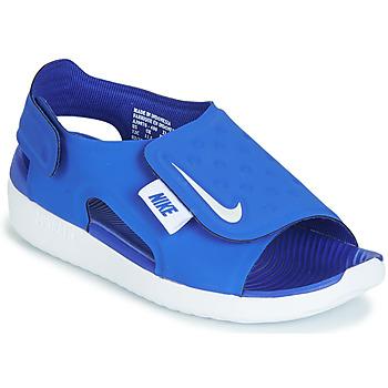 Sapatos Rapaz Sandálias Nike SUNRAY ADJUST 5 Azul