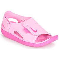 Sapatos Rapariga Sandálias Nike SUNRAY ADJUST 5 Rosa
