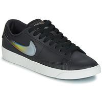 Sapatos Mulher Sapatilhas Nike BLAZER LOW LX W Preto / Prateado