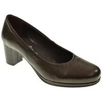 Sapatos Mulher Escarpim Laura Azaña 20200 Marrón